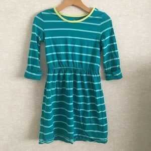 Circo Teal Long Sleeved Dress